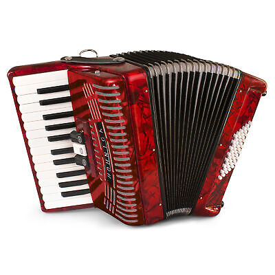 Hohner Accordions 1304-RED 73-Key 48-Bass Accordion