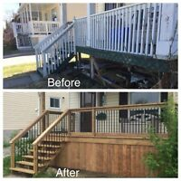 2018 book your new deck today