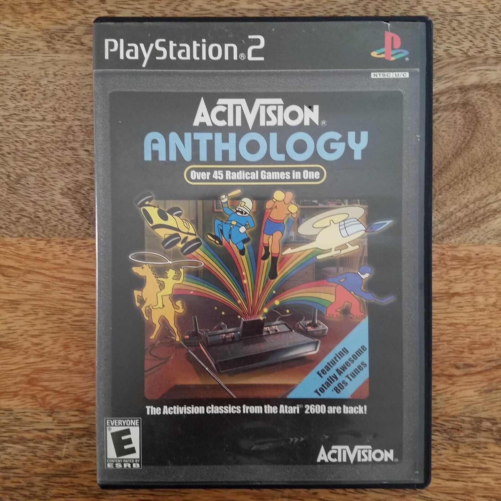 Activision Anthology Sony PlayStation 2 Video Game PS2 2002 45 Games 80 s RARE - $13.99