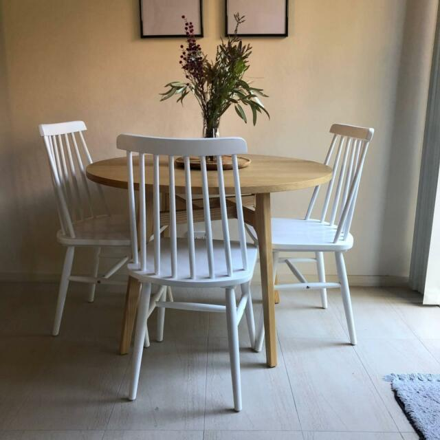 Anja Round Dining Table Scandi