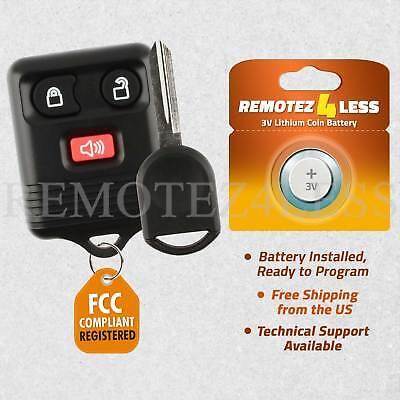 Remote for 2004 2005 2006 2007 2008 2009 2010 Ford F150 F250 F350 Car Key