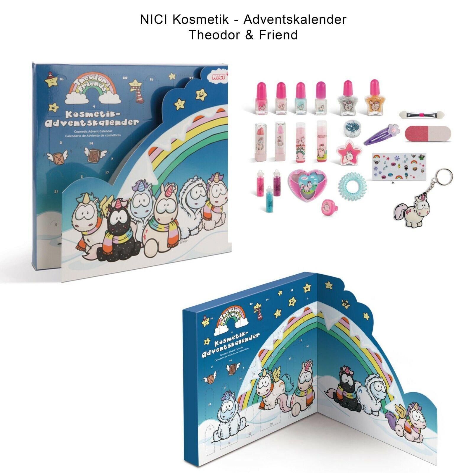 NICI Kosmetik Adventskalender Einhörner Weihnachtskalender Beauty Mädchen Kinder