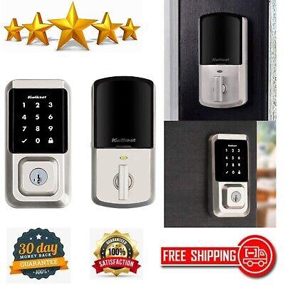 Kwikset Halo Wi-Fi Smart Lock Keyless Entry Electronic Touchscreen Door Deadbolt
