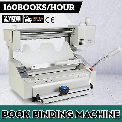 New Hot Melt Glue Binder Book Perfect Binding Machine Applicator Handle 110v