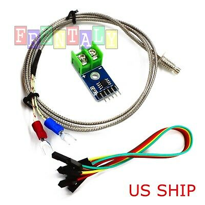 Dc 5v Max6675 Module K Type Thermocouple Temperature Sensor M6 For Arduino