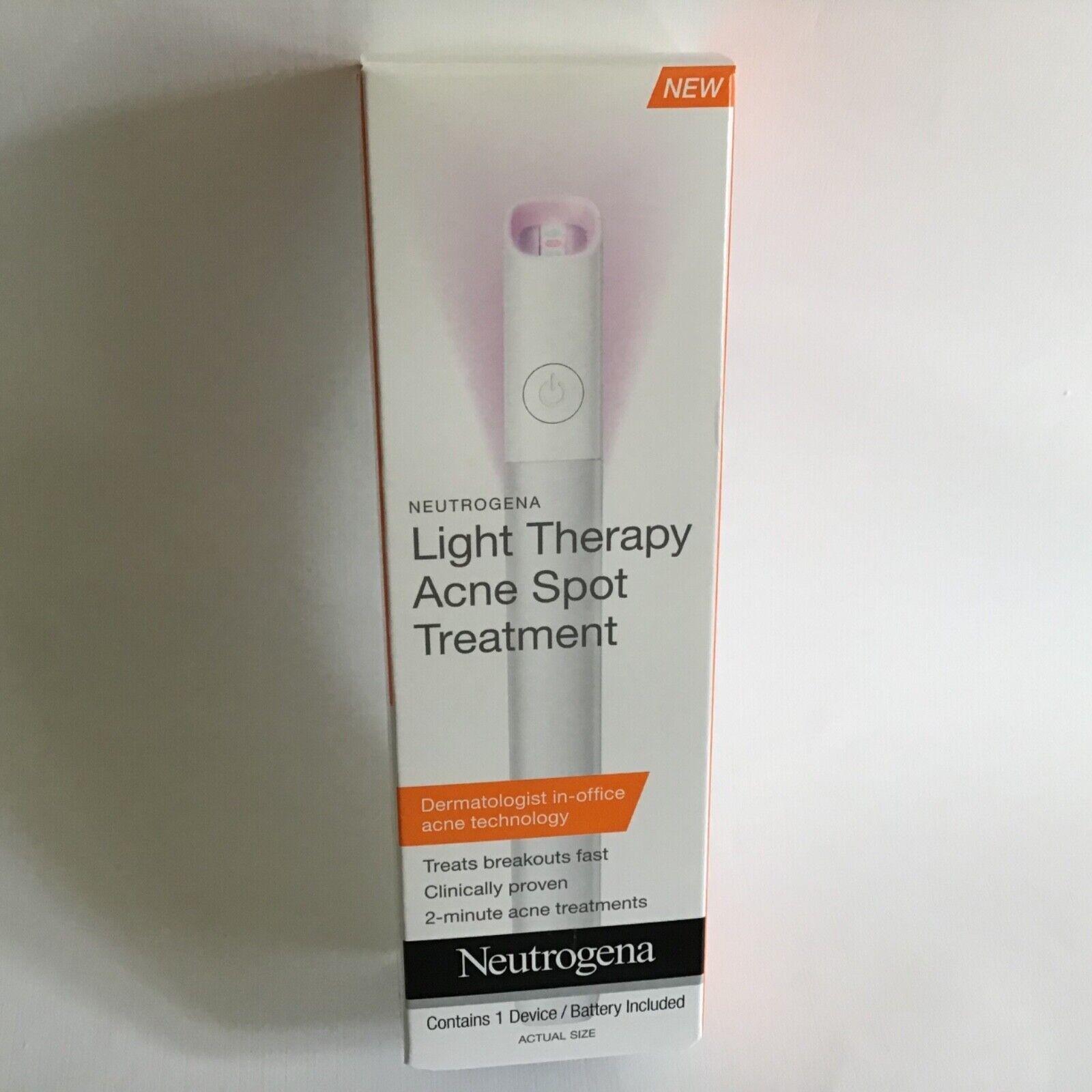 Neutrogena Light Therapy Acne Spot Treatment New Unopened