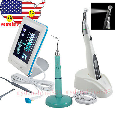 Us Dental Obturation System Heated Pen 161 Endo Motor 4.5 Lcd Apex Locator