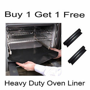 Oven Liner Non Stick Heavy Duty 40cm x 50cm Buy 1 Get 1 Free