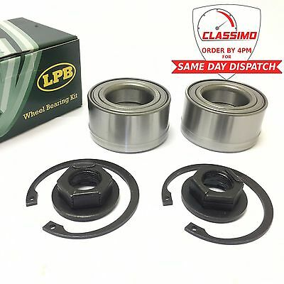 Front Wheel Bearing Kit Pair for FORD FOCUS MK 1   With ABS   1998 to 2005