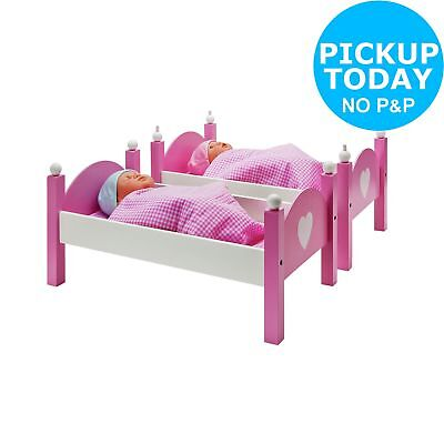Chad Valley Wooden Dolls Bunkbed