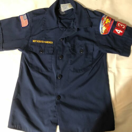 Official BSA Boy Scout Cub sht slv uniform shirt patches Y Med Grand Canyon Cncl