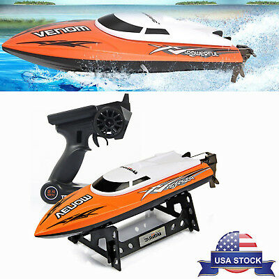 Udirc Venom 2.4GHz High Speed Racing RC Boat Remote Control Electric Toy Gift