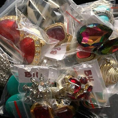 VINTAGE clip-on screw-back costume jewelry earrings - YOU CHOOSE - Monet -
