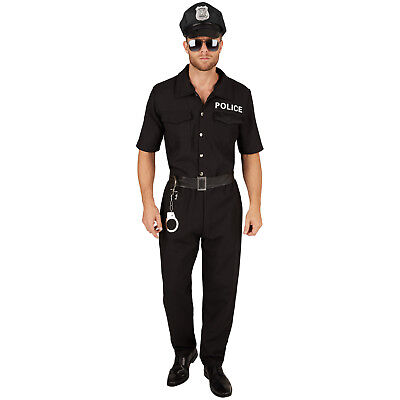 Herrenkostüm Polizist Cop Uniform sexy Polizeikostüm Streifenpolizist Fasching - Polizei Polizist Kostüm
