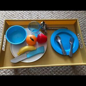 Toy kitchen accessories