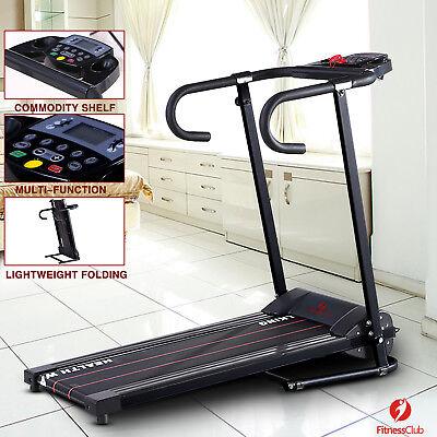 Treadmill Portable Folding Running Fitness Electric Multi-function Machine 500W