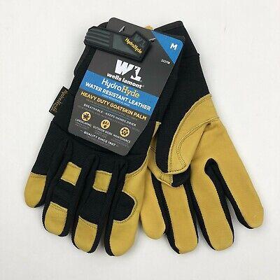 Wells Lamont Mens Hydrahyde Leather Work Gloves Single Pair Medium Large Xl