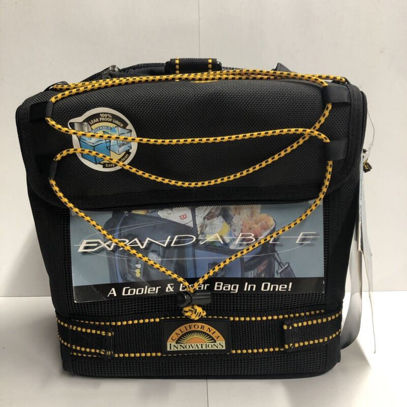 Expandable Thermal Whiz Insulated Cooler and Gear Bag California Innovations