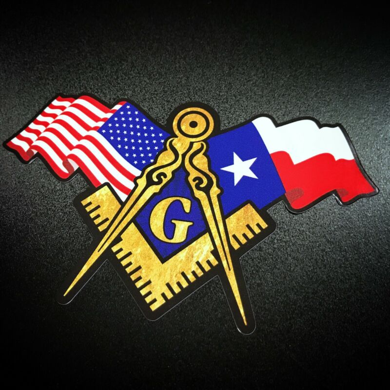 Masonic Texas - Sticker