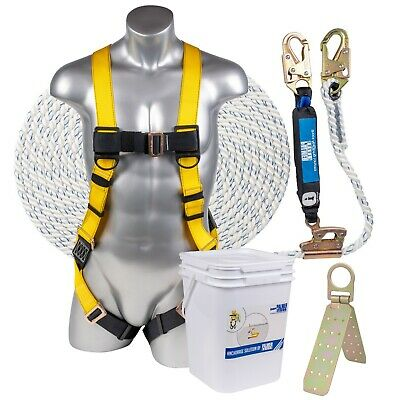 Palmer Safety Fall Protection Construction Roofing Bucket Kit