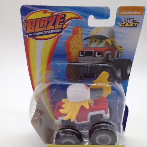 New Fisher-price Nickelodeon Blaze & The Monster Machines Joe Truck