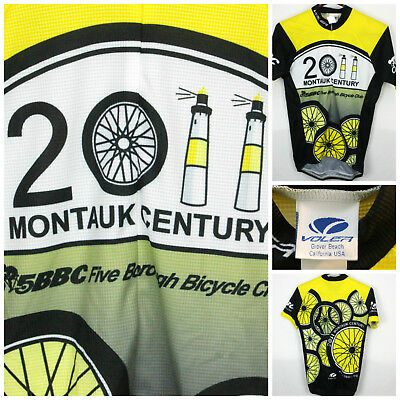 Voler Club Ragian Sm NWOT Cycling Jersey Montauk Lighthouse Century  18