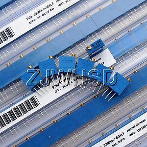 100-500K-60pcs-12value-3296-W-Potentiometer-Assorted-Kit-Variable-Resistor