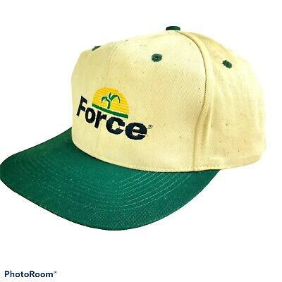 Vintage FORCE Corn Insecticide AG Cap Hat Farmer Trucker Snapback Never Worn