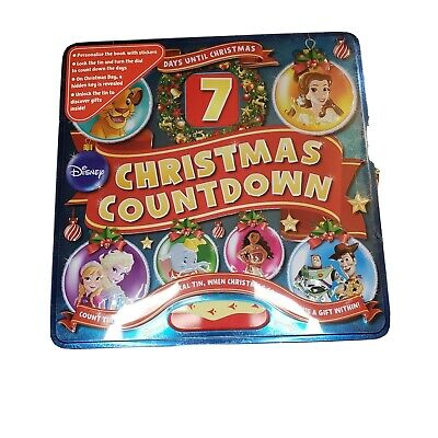 DISNEY 7 DAYS UNTIL CHRISTMAS COUNTDOWN TOY-STORY FROZEN NEW SEALED