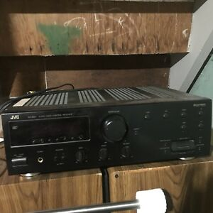 JVC Stereo Receiver and Speakers