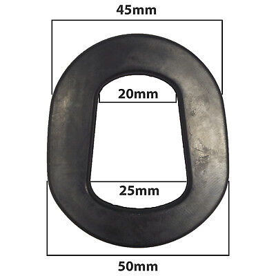 RUBBER SEAL WASHER GASKET FOR 5L/10L/20L METAL JERRY CANS & SPOUTS REPLACEMENT