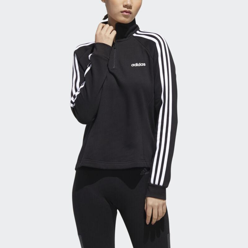 adidas Essentials 3-Stripes Fleece 1/4 Zip Jacket Women