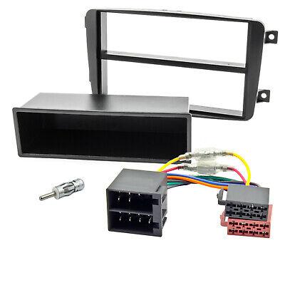 Radioblende Set für Mercedes C W203 CLK W209 Vito W639 Blende Rahmen Adapter
