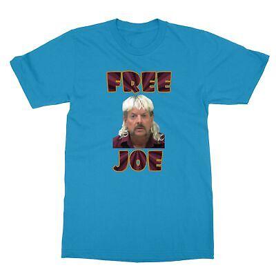 Joe Exotic Photo Free Joe Tiger Funny Men's T-Shirt Free Funny Photo