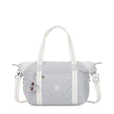 Kipling Large Shoulder Bag ART Travel Tote  ACTIVE GREY BL RRP £87