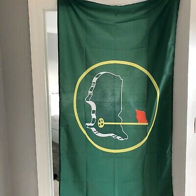 Augusta National Golf Club Green Clubhouse Flag Tiger Woods Jack Nicklaus PGA
