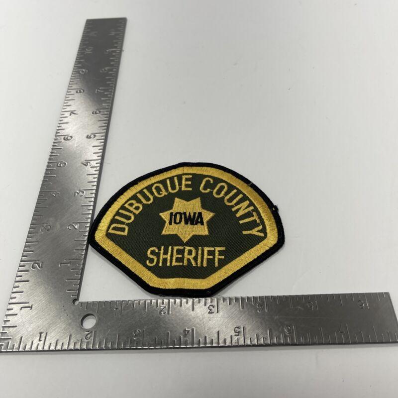 DUBUQUE COUNTY IOWA SHERIFF POLICE PATCH