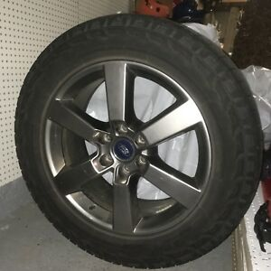 "Hankook Dynapro AT 275/55R20 Tires & 20"" Gun Metal Ford Rims"