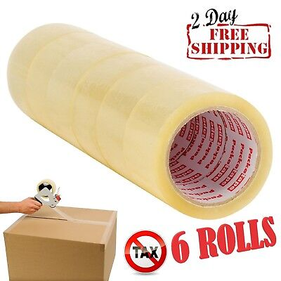 Sale Scotch Moving Storage Packing Tape-6 Rolls Shipping Packaging Heavy Duty