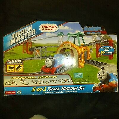 2014 Fisher-Price Thomas & Friends TrackMaster, 5-In-1 Track Builder Set NEW