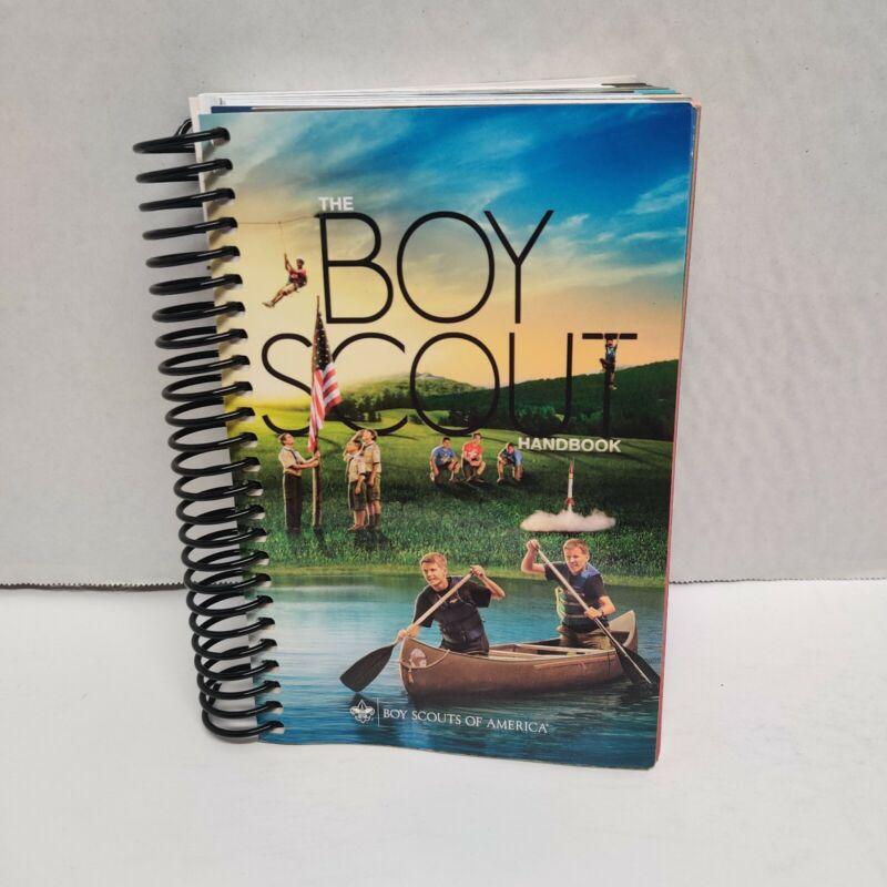 Boy Scouts of America Handbook BSA Book 2015 Printing Spiral 2016 EUC