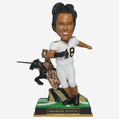 Shaquem Griffin #18 UCF Golden Knights Rookie Special Edition Bobblehead FREE Ucf Golden Knights