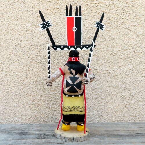 Native American Art-Navajo-Mescalero Apache Crown Dancer Kachina-Lawrence Romero