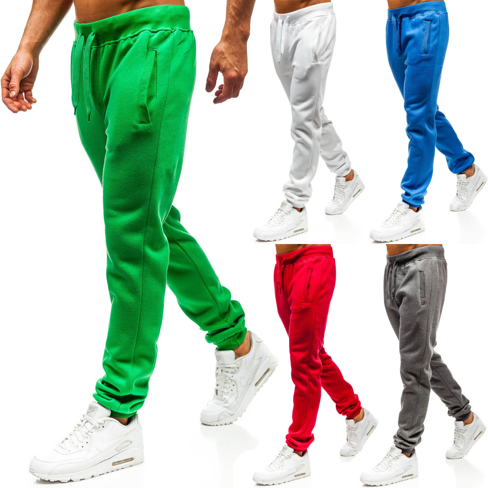 ef601f37038192 BOLF Trainingshose Sporthose Fitness Jogginghose Basic Sport Herren 6F6  Slim Fit
