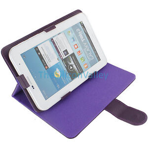 PU Leather Stand Cover Protective Folio Case for 7inch Android Tablet PC MID New