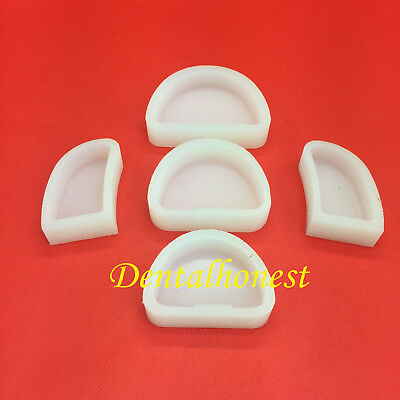 1set  Dental Lab Silicone Plaster Model Former Base Molds Mould