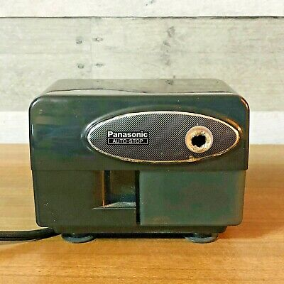 Vintage Panasonic Electronic Pencil Sharpener Kp-310 W Auto Stop Working