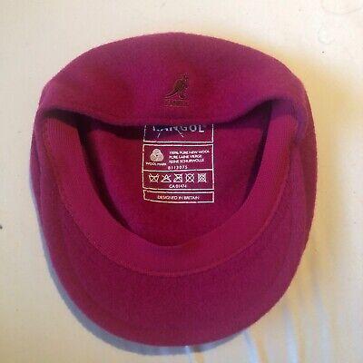 Kangol Flat Cap Pink Size Small