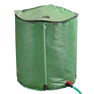 "Portable Rain Barrel - 50 Gallons -Collapsible Water Collector Tank -28""H x 24""D"