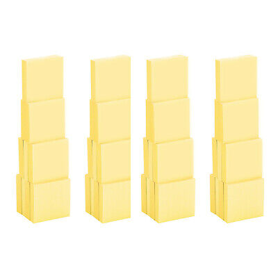 4a Sticky Notes 1 78 X 1 78 Inches Canary Yellow 40 Pads Total 4000 Sheets